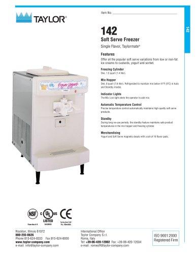 142 Soft Serve Freezer