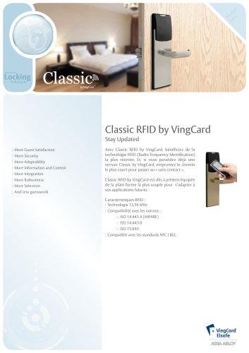 Classic RFID Product Sheet
