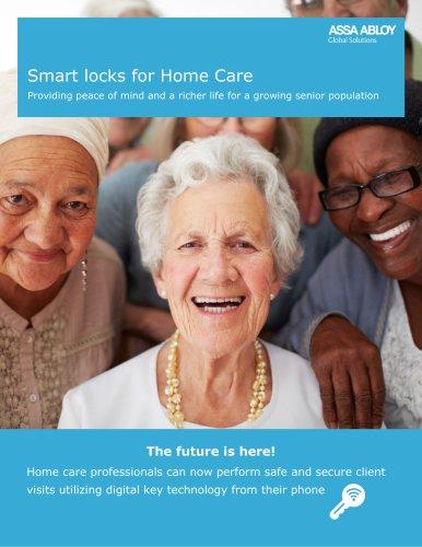 Smart locks for Home Care