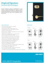 VingCard Signature Serrure électronique