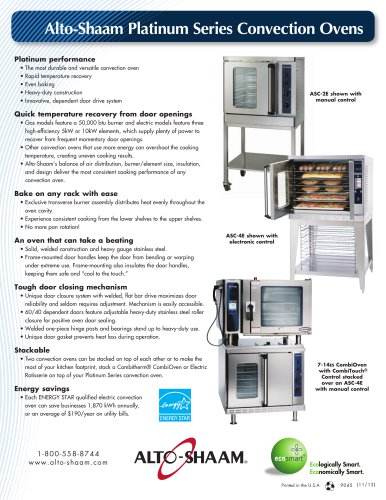 Convection Oven Flyer