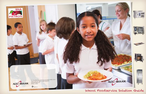 School Foodservice Solutions Brochure