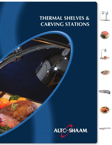 Thermal Shelves & Carving Stations Brochure