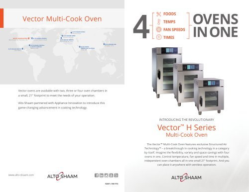 Vector Multi-Cook Oven Brochure