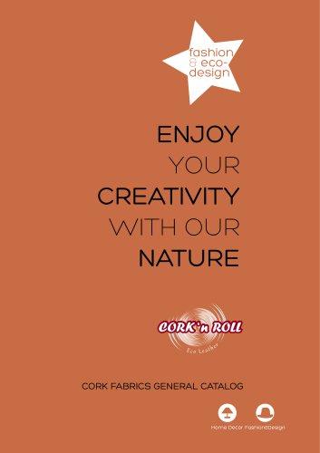 Cork fabrics - Fashion Eco Design Catalog