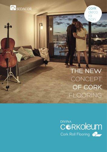 Divina Corkoleum roll flooring