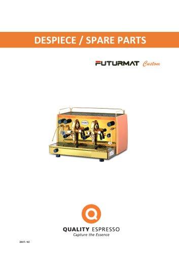 DESPIECE / SPARE PARTS Futurmat Custom