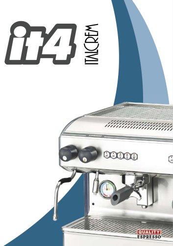 Machine à café espresso Italcrem IT4