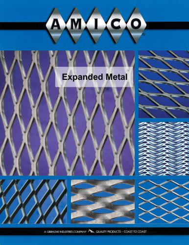 Regular and Flattened Expanded Metal