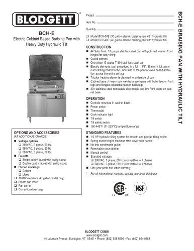 BCH-E Series
