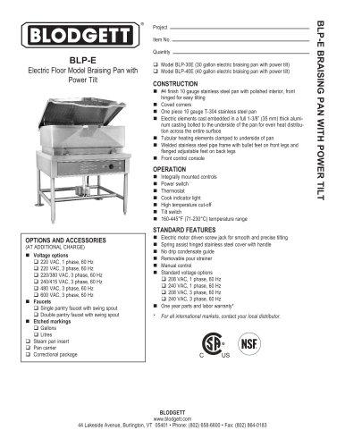 BLP-E Series