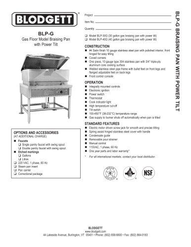 BLP-G Series