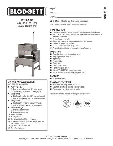 BTS-16G