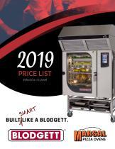 PRICE LIST 2019