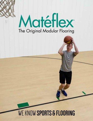 Matéflex: The Original Modular Flooring (brochure)