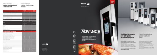 Advance ovens