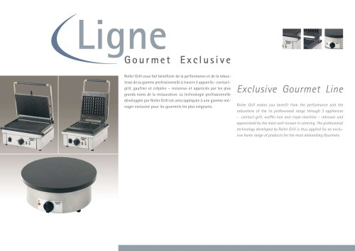 Catalogue GourmetLine