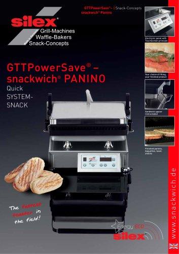 GTTPowerSave®  ? snackwich® PANINO