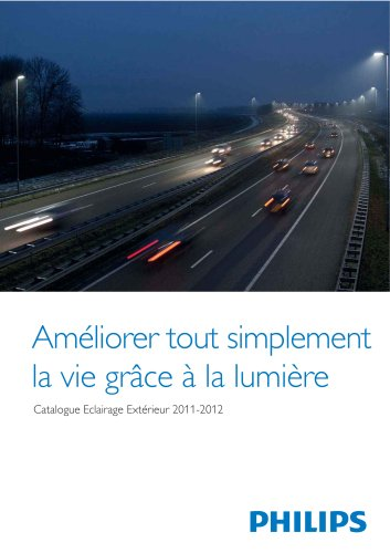Catalogue Eclairage Extérieur 2011-2012