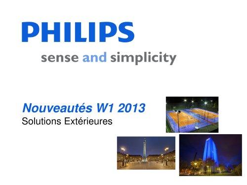 Nouveautés W1 2013 Solutions Extérieures