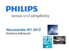 Nouveautés W1 2013 Solutions Intérieures