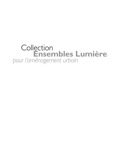 Philips - collection pour aménagement urbain