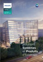 Solutions Systèmes et Produits d'Eclairage
