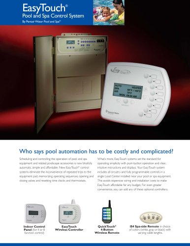 EasyTouch® Wireless Systems