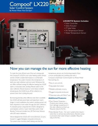 LX220 Solar Control Systems