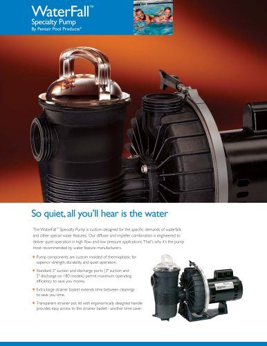 WaterFall Specialty Pumps