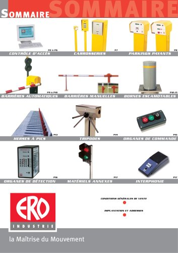 ERO - catalogue