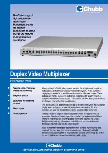 Duplex Video Multiplexer