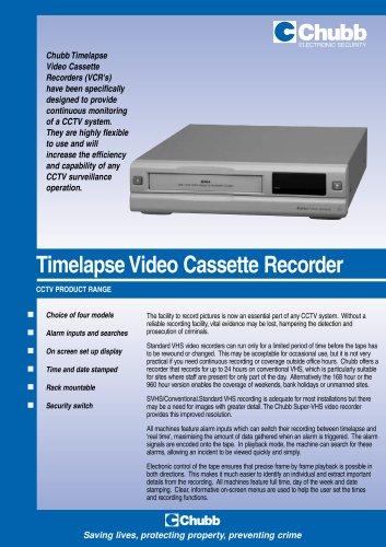 Timelapse Video Cassette Recorder