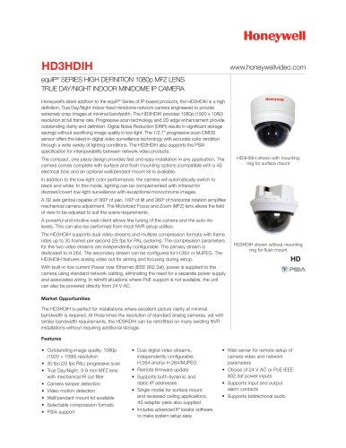 Data sheet HD3HDIH