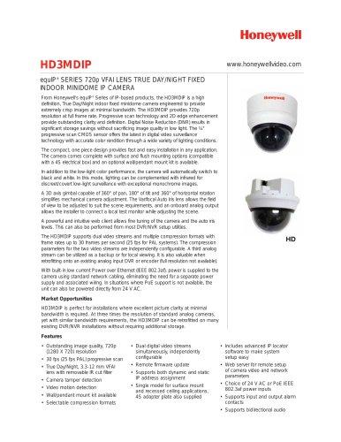 Data sheet HD3MDIP