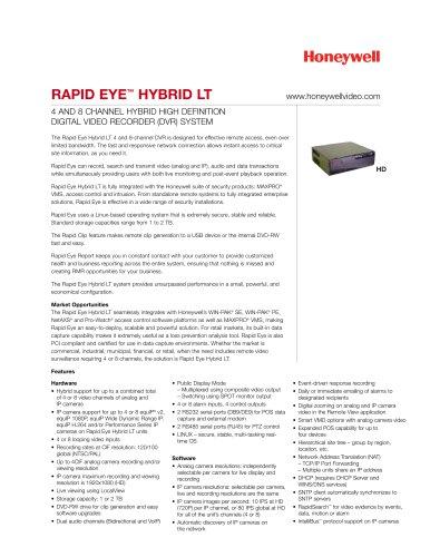 Data Sheet - Rapid Eye? Hybrid LT