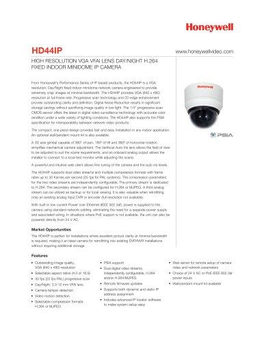 Datasheet HD44IP