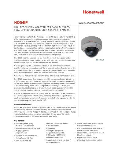 Datasheet HD54IP