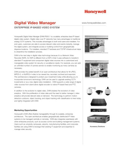 Digital Video Manager