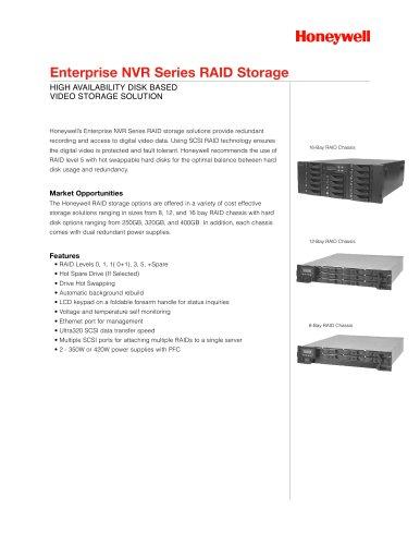 Enterprise NVR Series RAID Storage