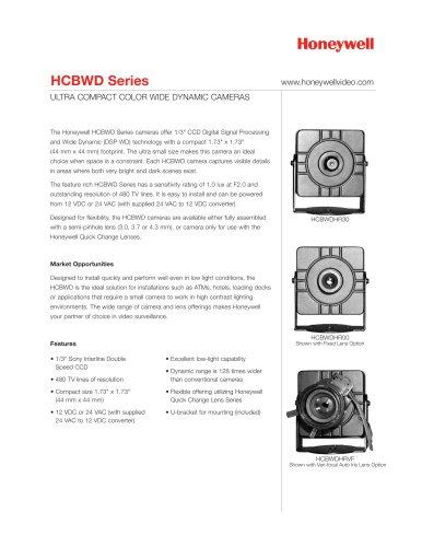 HCBWD Series