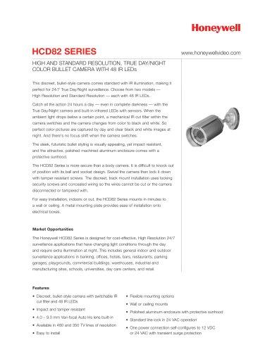HCD82 Series