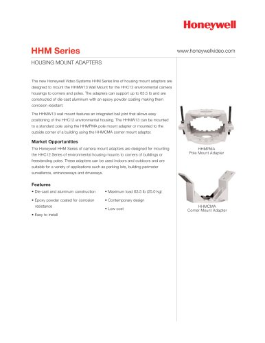 HHM Series Housing Mount Adapters