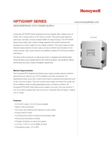 HPTV24WP Series