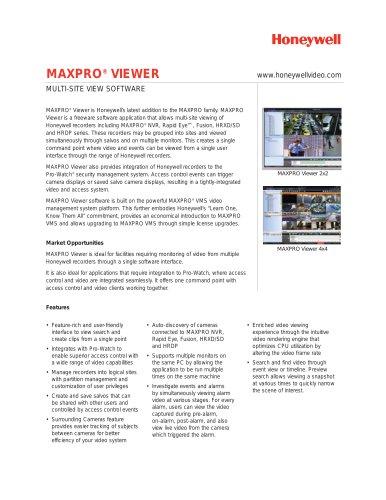 MAXPRO® VIEWER