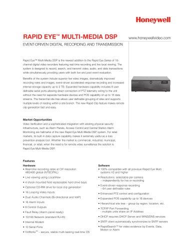 Rapid Eye™ Multi-Media DSP