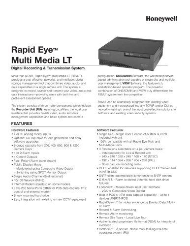 Rapid Eye Multi-Media LT