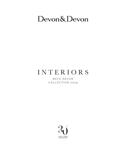 Interiors Bath Decor Collection 2019