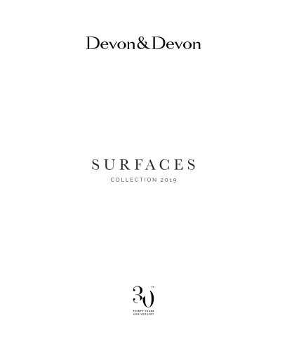 SURFACES COLLECTION 2019
