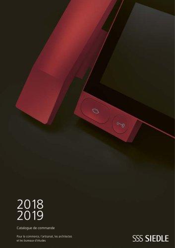 2018/2019 CATALOGUE DE COMMANDE